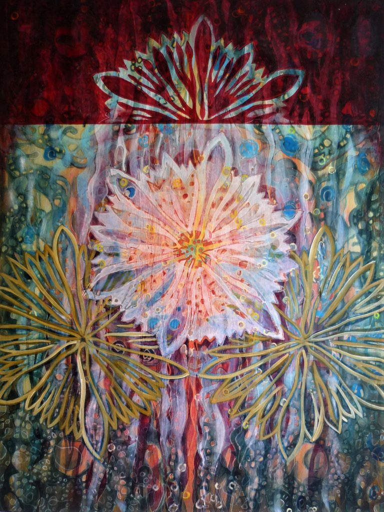 61x81 cm | Acrylic, oil, wood | 2017 | Price 850,- euro