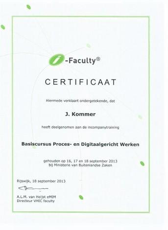Basiscursus Proces- en Digitaalgericht Werken (2)