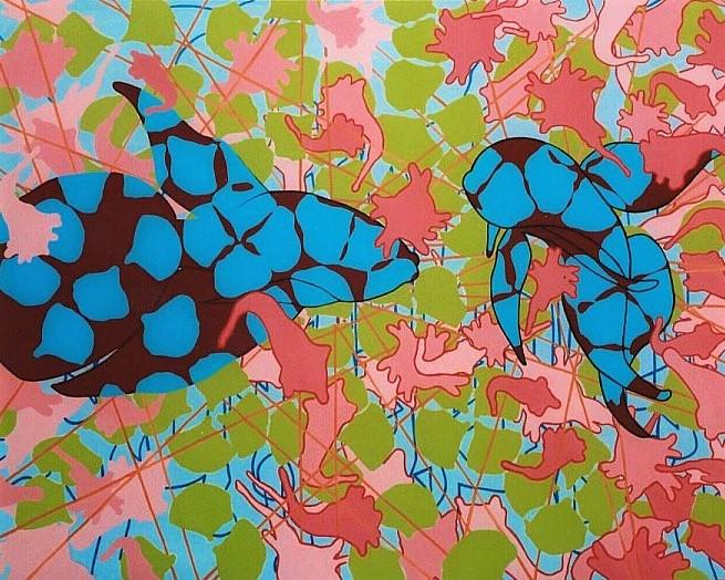 Kempfish I 95x120cm 2004 (2)