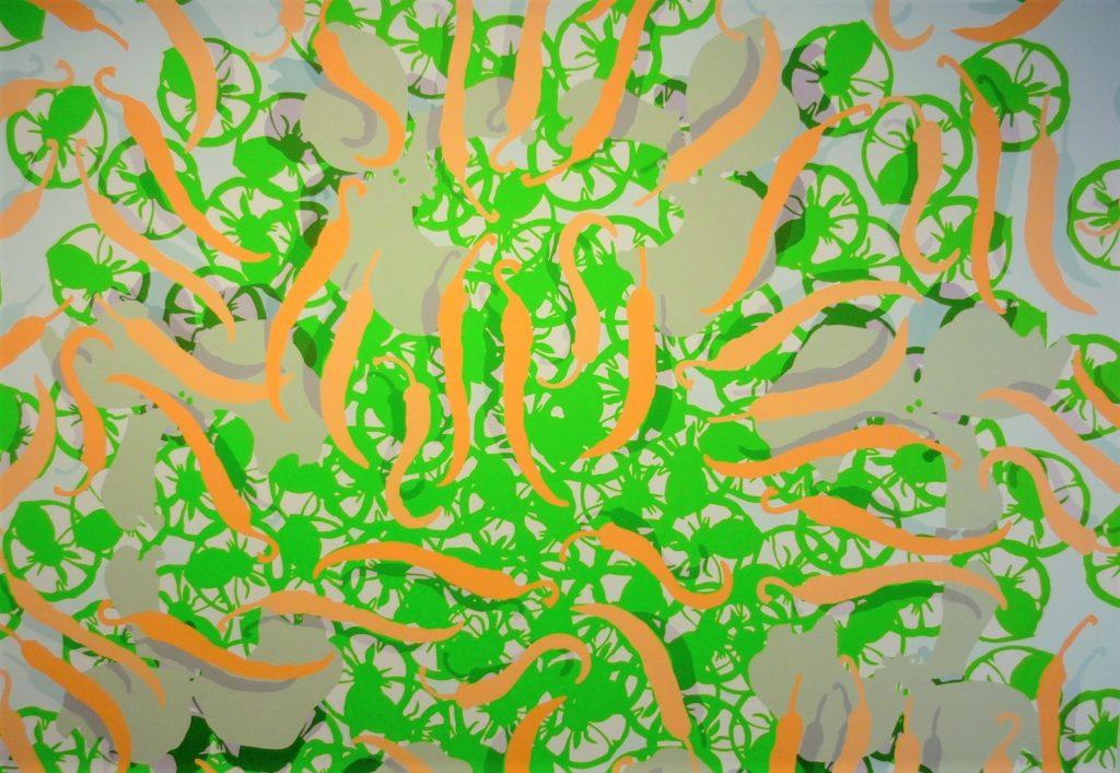 Detail 'Peppers'_1.80x1.80 m_Mohani.nl- kopie (2)